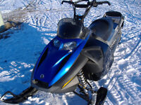 As new sled. with rebuilt engine