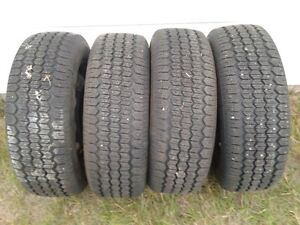winter tires c/w riims