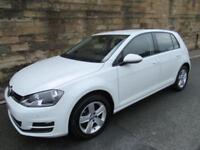 2015 15 VOLKSWAGEN GOLF 1.6 MATCH TDI BLUEMOTION TECHNOLOGY 5D 103 BHP DIESEL