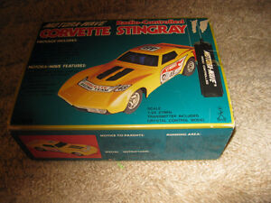 CORVETTE STINGRAY,  to scale, radio controlled, collector item