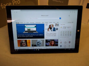 Surface Pro 3 core i5, 8GB Ram, 256GB SSD with New Pro4 Keyboard