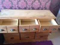 Chest of draws/ 9 draw storage unit