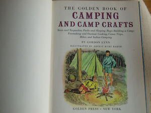 "BOY SCOUTS 1959 ""GOLDEN BOOK CAMPING - CAMP CRAFTS West Island Greater Montréal image 3"