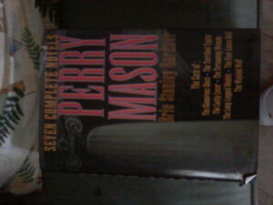 PERRY MASON book, 7 complete stories