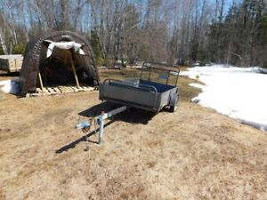 IIHAVE 2 TRAILERS 4X8 TO TRADE FOR 1 TRAILER 6X10 OR 12