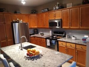 Kitchen cabinets. Must sell right away.