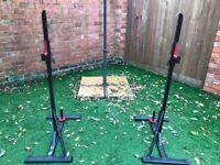 Domyos Squat and Bench Stands