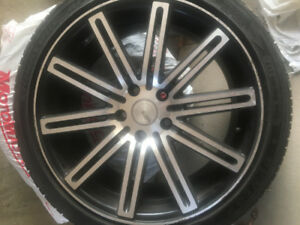 SPORT ALLOY RIMS AND TIRES