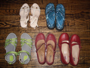 4 pairs of ladies' shoes - $10 for all 4 pairs
