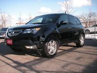 2007 ACURA MDX 4WD, ONE OWNER, ACCIDENT FREE!!! $14499