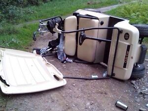 !•! All GOLF CARTS Blown-up, Wrecked or Unwanted !•!
