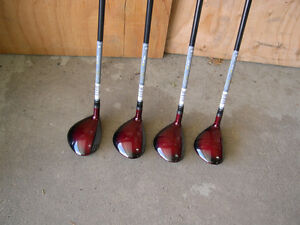 5 TaylorMade r7 CGB woods