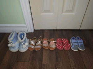 Girls size 7 shoe lot