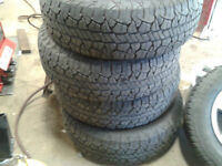 installing and balancing tires for 65 -75$