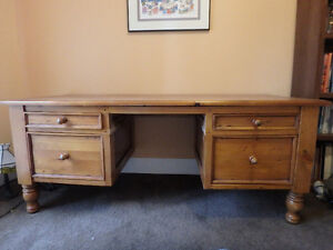 Solid Wood Desk- Reduced from 150$