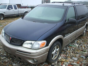 PARTS AVAILABLE FOR A 2002 PONTIAC MONTANA