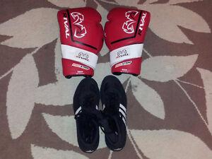Rival RS2V-Pro Sparring Gloves - Velcro - Red /16 oz, Adidas Com