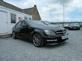 2013 (13) Mercedes-Benz C63 AMG 6.3 Auto (487 bhp) 9,000 MILES PERFORMANCE PACK