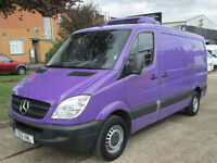 2012 12-REG Mercedes Benz Sprinter 313CDI MWB FRIDGE FREEZER. STANDBY 240V PLUG