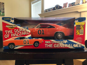 ERTL THE DUKES OF HAZZARD 1969 CHARGER GENERAL LEE BARRIS KUSTOM
