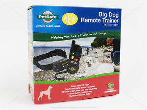 PETSAFE PDT00-13411 BIG LARGE DOG REMOTE SHOCK TRAINING COLLAR STATIC TRAINER