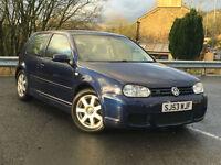 Volkswagen Golf 2.8 2003MY V6 4Motion px swap swop finance warranty