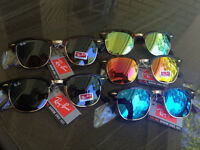 Rayban Clubmasters. Brand new in package. 5 different colours.