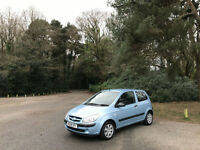 2008 Hyundai Getz 1.1 GSi 3 Door Hatchback Blue