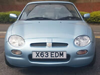 MG/ MGF MGF 1.8 Steptronic CVT SE