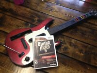Guitar hero 5 and guitar (wii)