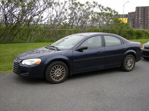 2006 Chrysler Sebring a vendre pour pieces(as Parts in 7 days)
