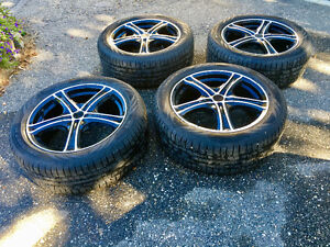Nokian Winter Tires and Rims used on a 3 Series BMW - like new