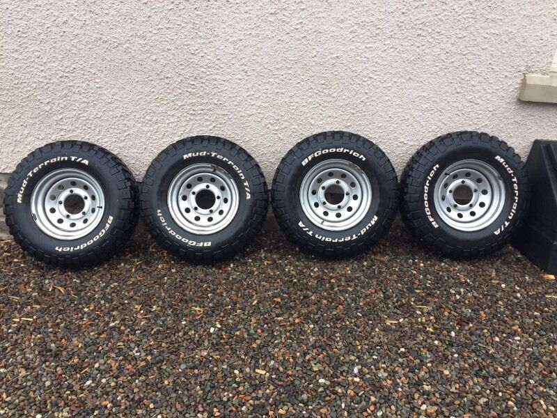 Land Rover Defender Modular Wheels And Bf Goodrich Tyres
