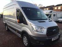 2016 Ford Transit 350 L4H3 (extra LWB Jumbo) Trend in silver