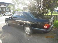 1989 mercedes benz 300ce coupe 1000$