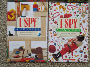 "4 ""I SPY"" books-find hidden items-Scholastic London Ontario image 3"