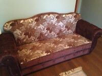 BED SETTEE SOFA X 2 - EXCELLENT CONDITION