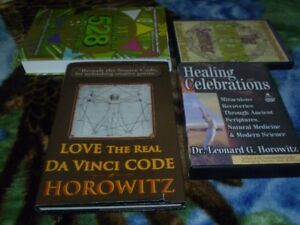 Various Books and DVDs by Dr. Leonard G. Horowitz