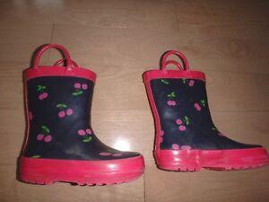 bottes de pluie grandeur 6