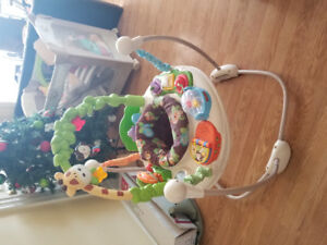 Hardly used Fisher-price jungle jumperoo