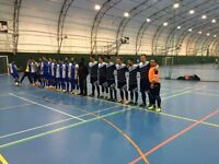 Futsal (indoor football) 5 a side players wanted for river lea futsal club