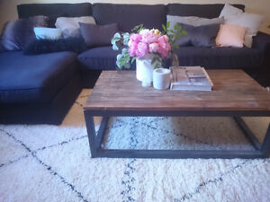 BLACK SECTIONAL IKEA LESS THAN A YEAR OLD. PERFECT CONDITION