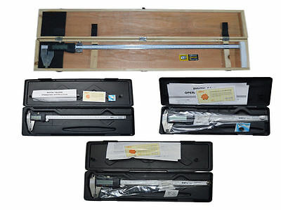 Digital Electronic Vernier Caliper Set 6 8 12 24 - Inch Mm - Micrometer