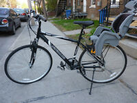 Hybrid bike, 21 speed - like new (without child seat)