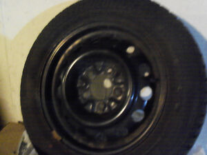 4 215/60R15 SNOW TIRES 15 inch On GM Rims NEW!