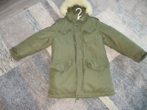 vintage canadian army parka extreme cold mint condition