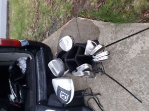 Adult left hand clubs