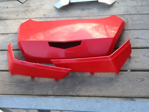 Red Trunk Box Panels for Can am 32 Gal Trunk Box