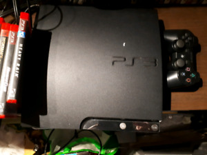 PS3, 18 games and 1 controller.