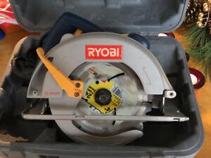 "Ryobi Circular Saw 7-1/4"""